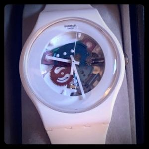 *Gave away White ,, Swatch Lacquer  41mm new gents